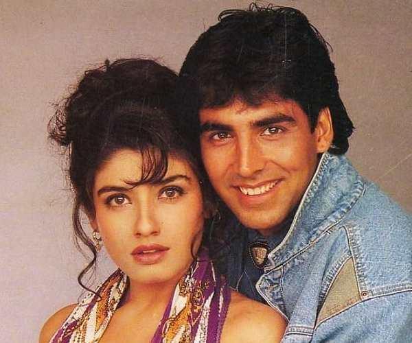 Akshay Kumar and Raveena Tandon most popular hits