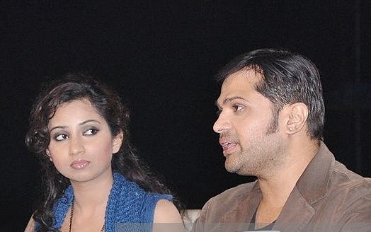 Himesh Reshammiya and Shreya Ghoshal most popular songs