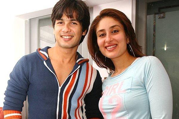 Shahid Kapoor and Kareena Kapoor most popular hits