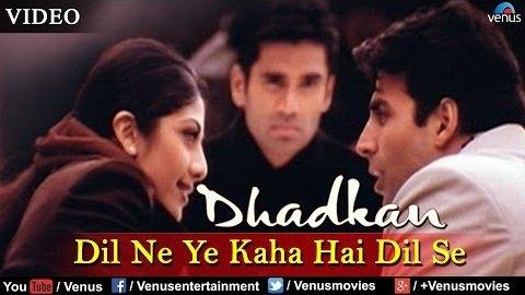 Dil Ne Yeh Kaha Hain Part 2 Lyrics - Dhadkan