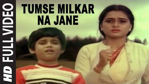 Tumse Milkar na Jane Kyon Lyrics - Pyar Jhukta Nahin