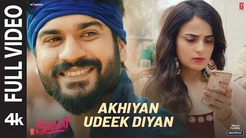 Akhiyan Udeek Diyan Lyrics - Shiddat